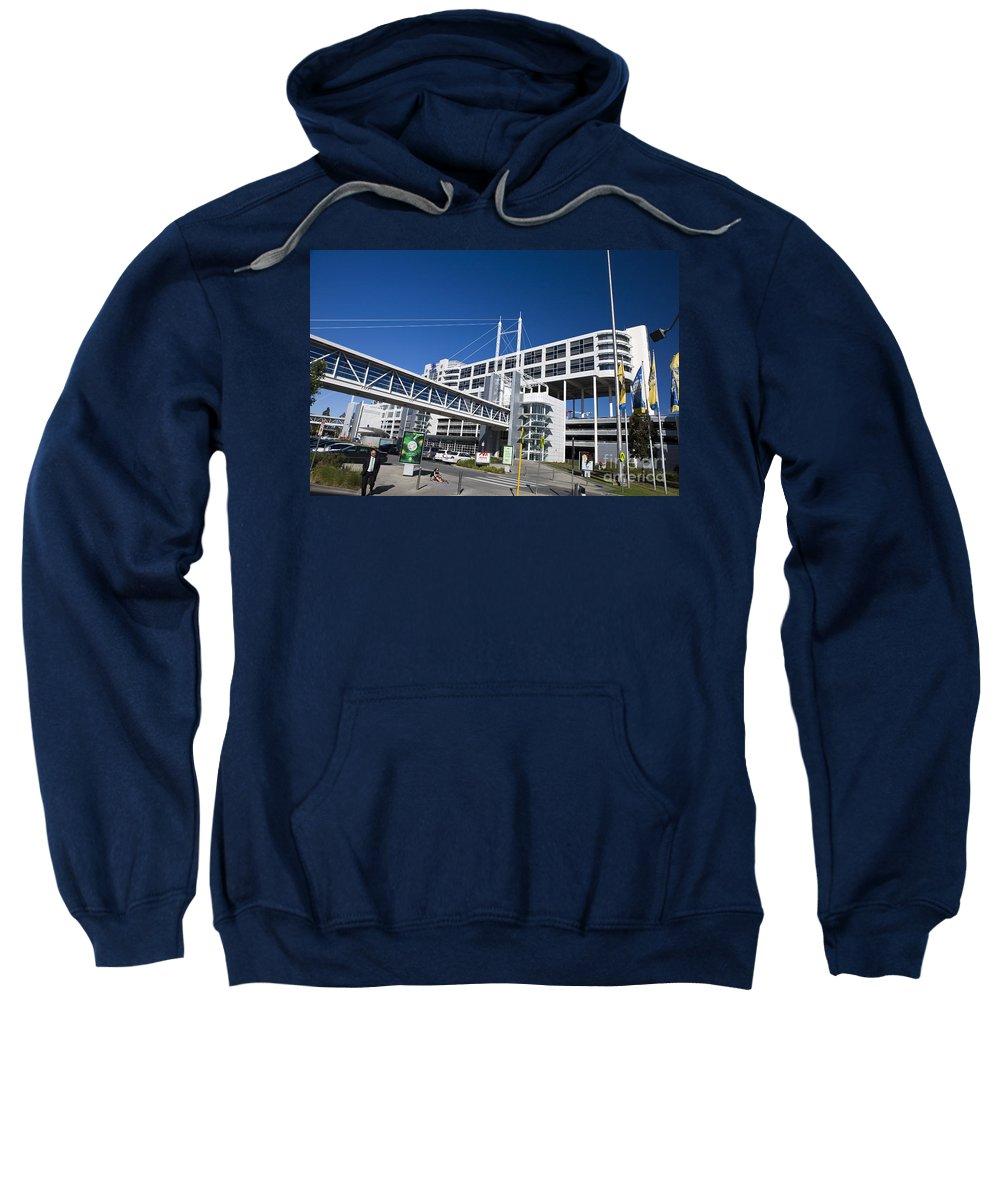 Travel Sweatshirt featuring the photograph Hilton International Airport Hotel Melbourne by Jason O Watson