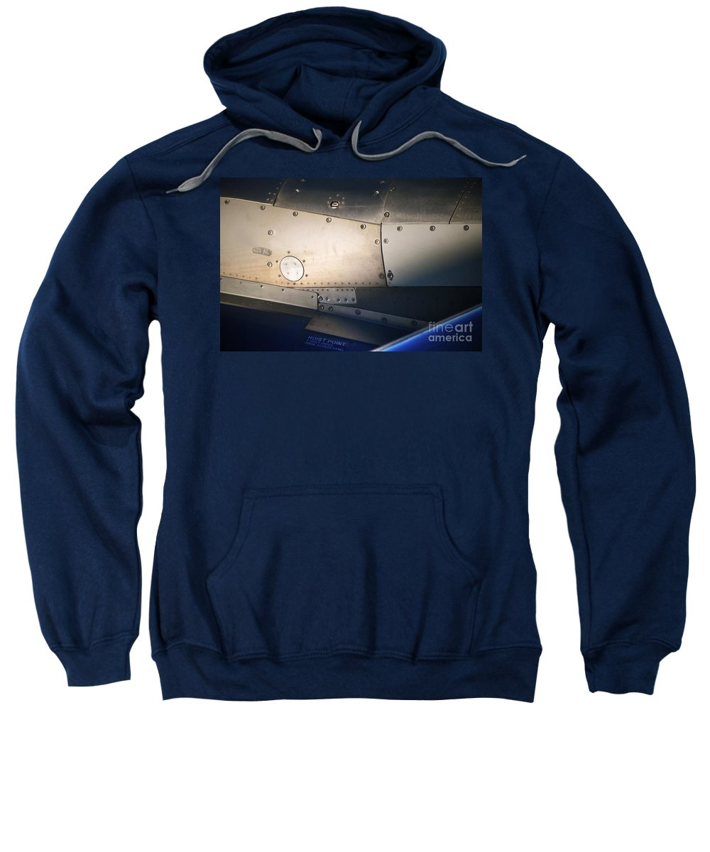 Plane Sweatshirt featuring the photograph Hoist Point by Gwyn Newcombe