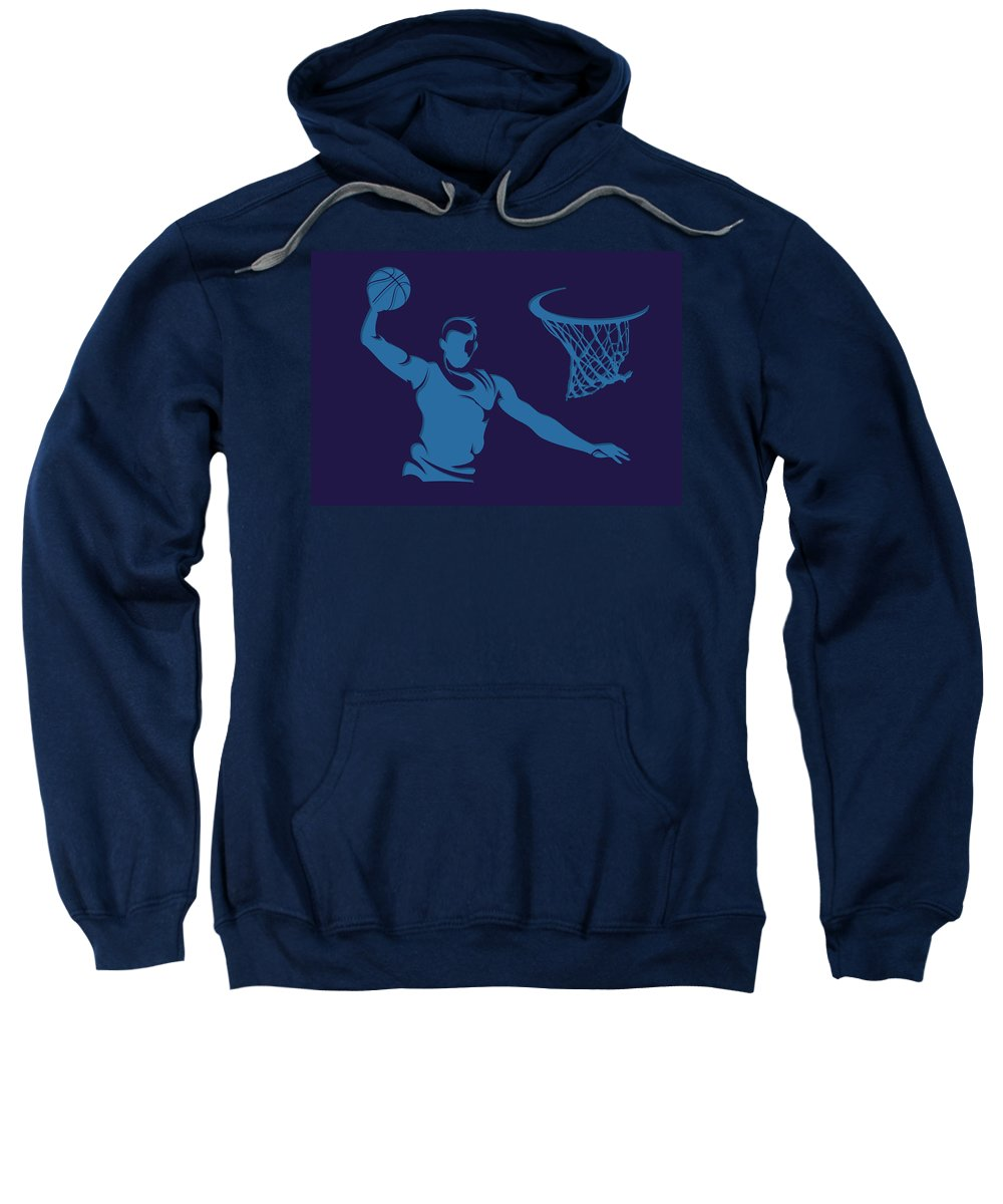 Hornets Sweatshirt featuring the photograph Hornets Shadow Player2 by Joe Hamilton