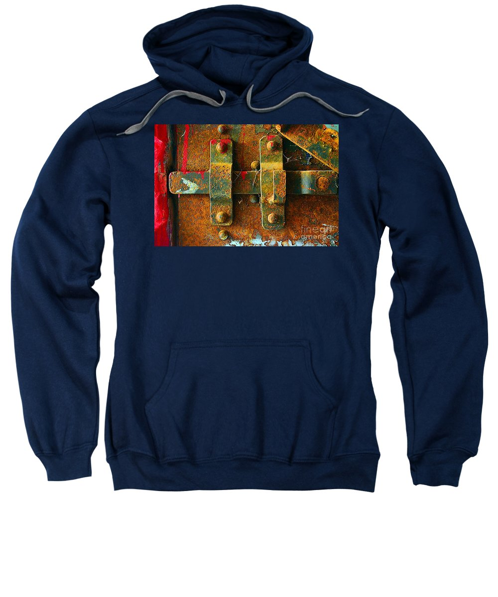 Abstract Sweatshirt featuring the photograph Insecurity by Lauren Leigh Hunter Fine Art Photography