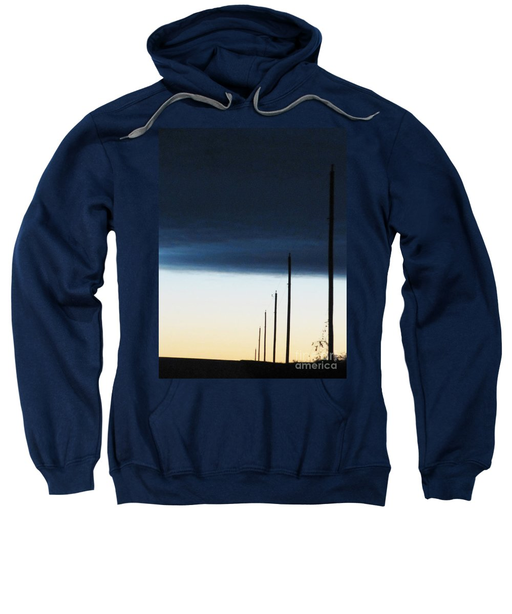 Lead On Sweatshirt featuring the photograph Lead On by Ron Tackett
