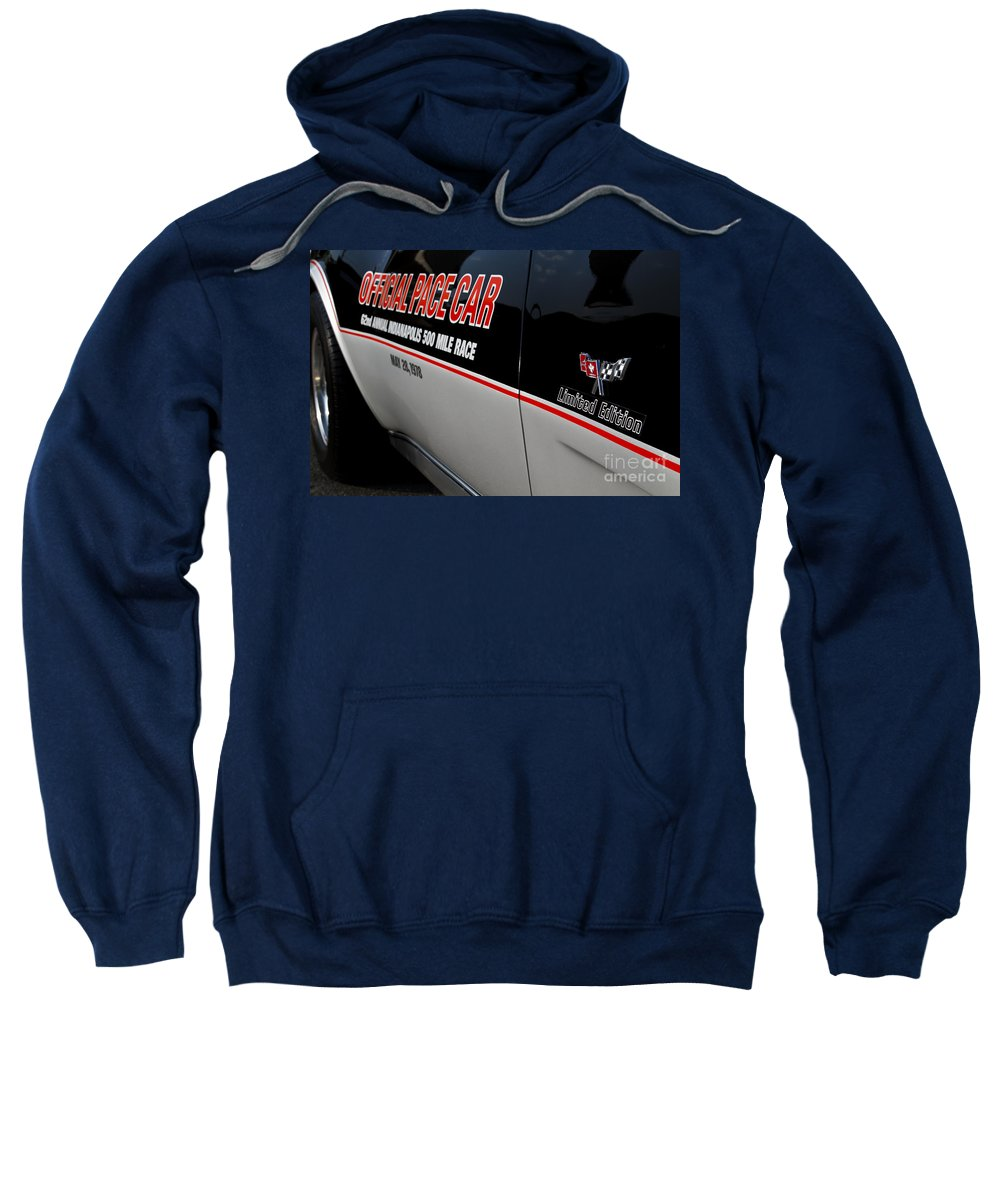 Corvette Sweatshirt featuring the photograph Limited Edition by Dennis Hedberg