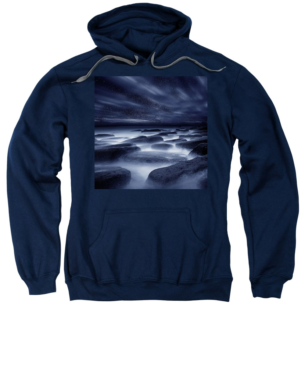 Night Sweatshirt featuring the photograph Morpheus Kingdom by Jorge Maia
