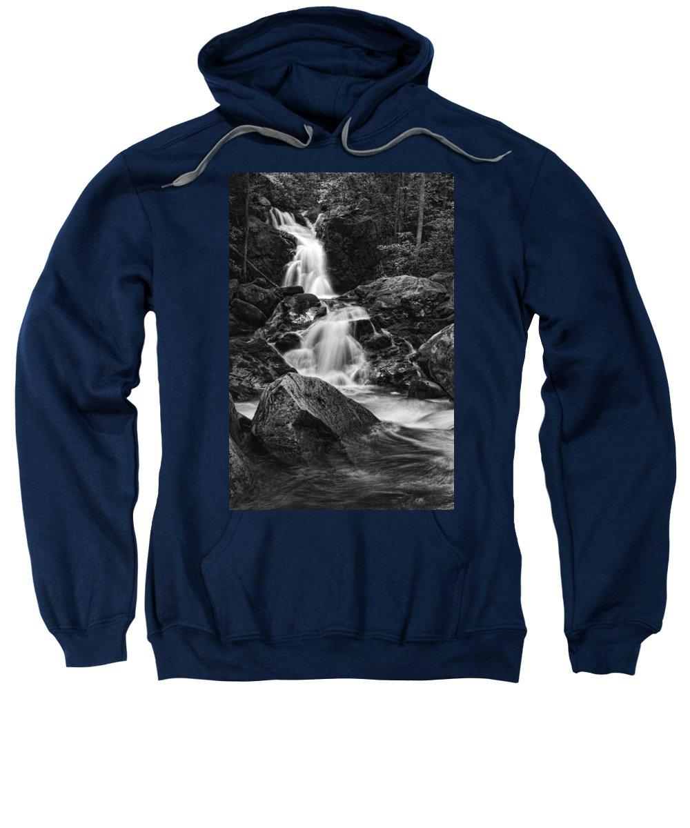 Waterfall Sweatshirt featuring the photograph Mouse Creek Falls by Shari Jardina