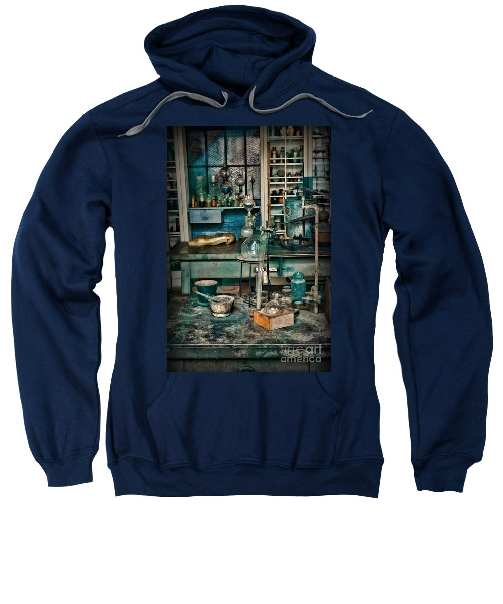 Paul Ward Sweatshirt featuring the photograph My Science Lab by Paul Ward