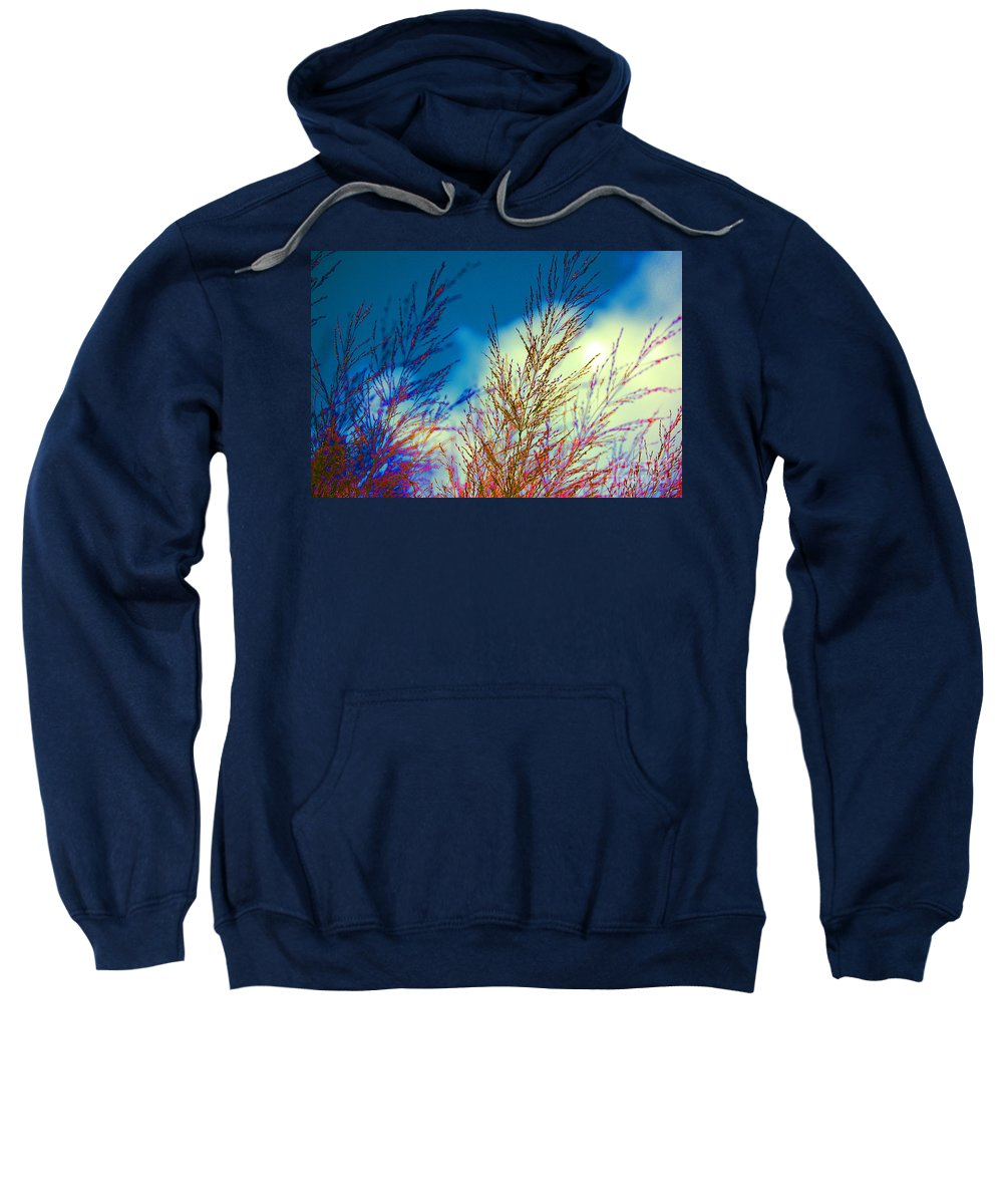 Irst Star Art Sweatshirt featuring the photograph Night And Day by First Star Art