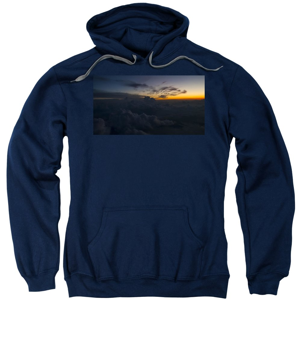North Carolina Sweatshirt featuring the photograph North Carolina Dawn by Greg Reed