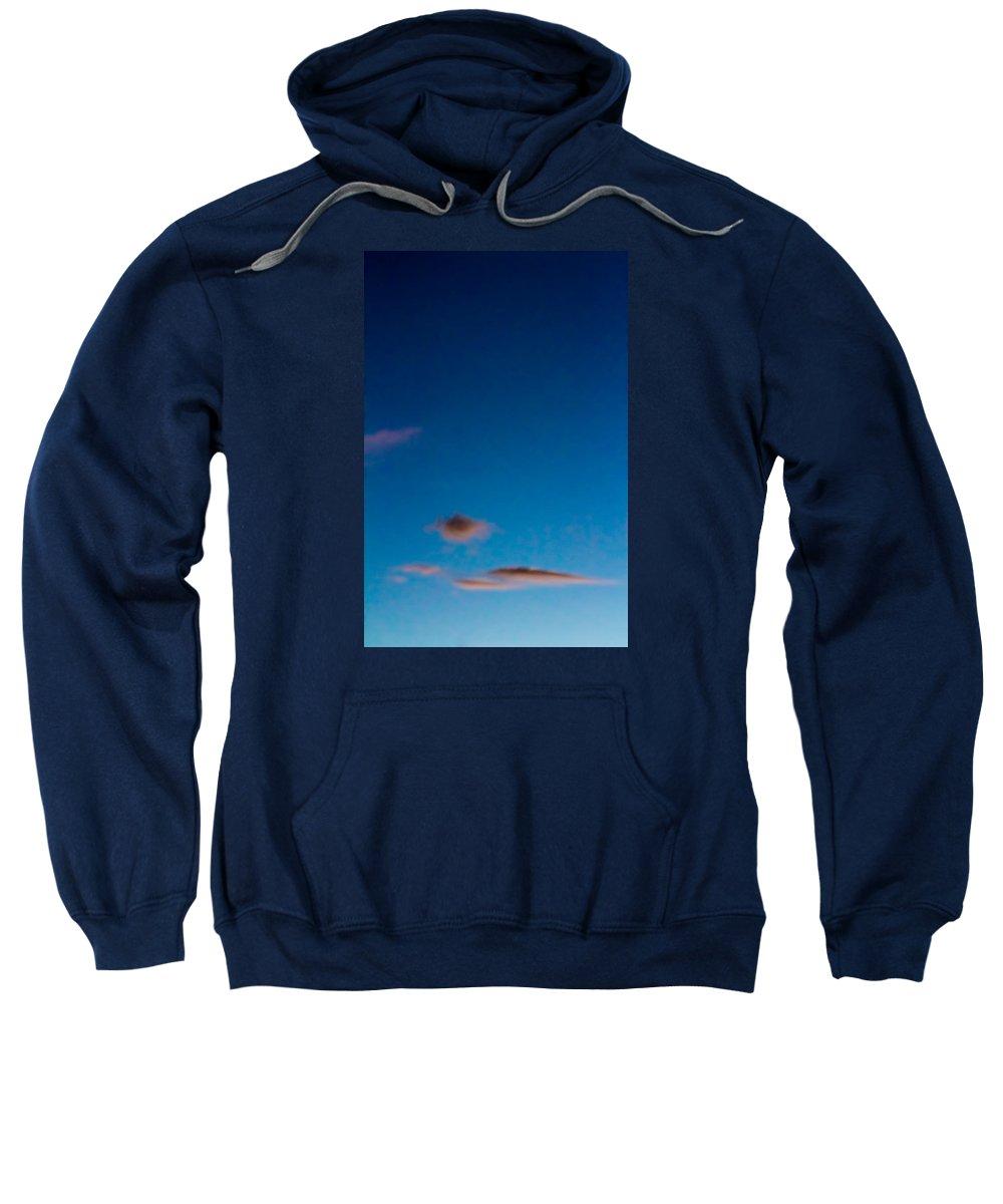Sky Sweatshirt featuring the photograph November Clouds 011 by Agustin Uzarraga