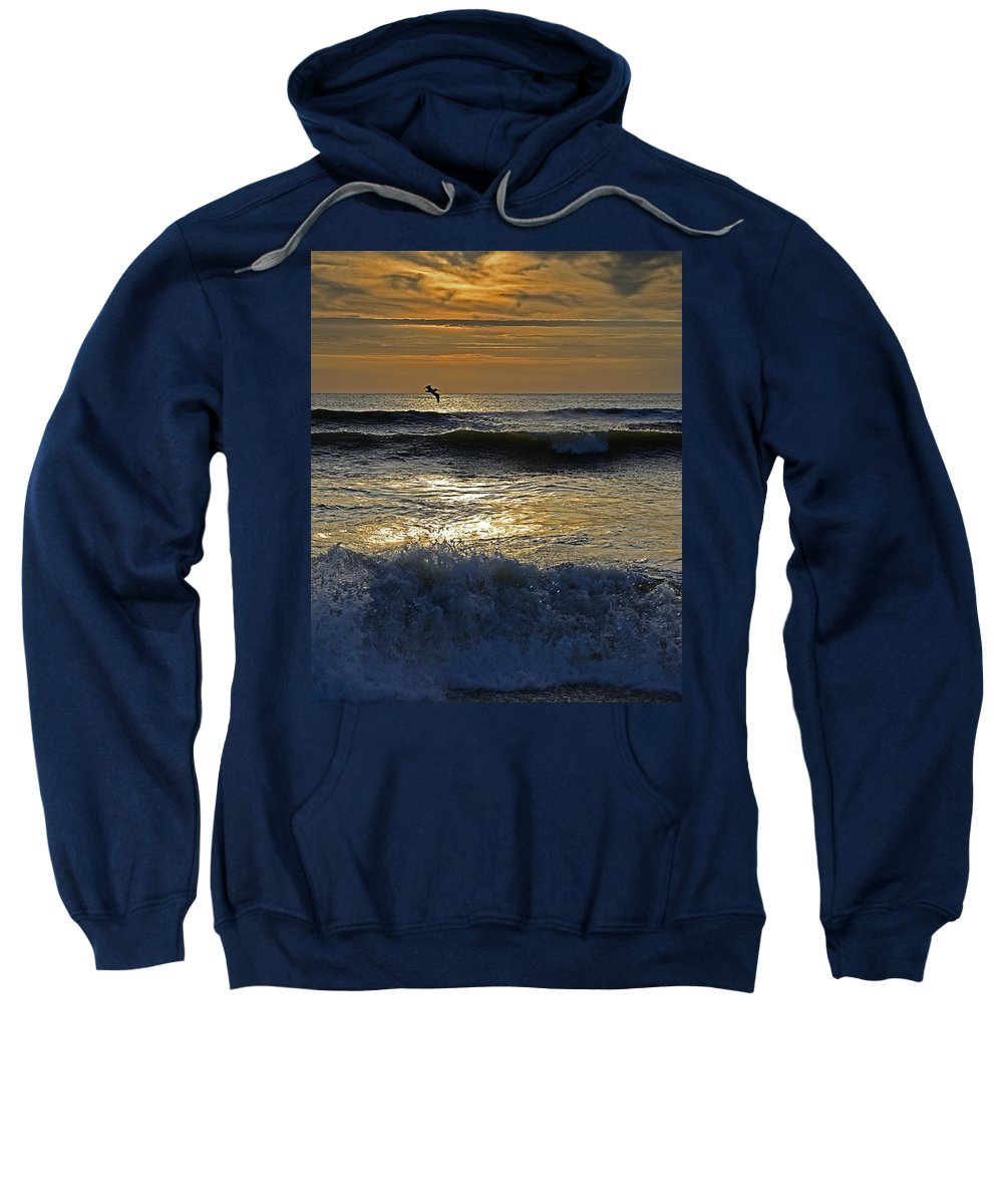 Ocracoke Island Sweatshirt featuring the photograph Ocracoke Morning by Eric Albright
