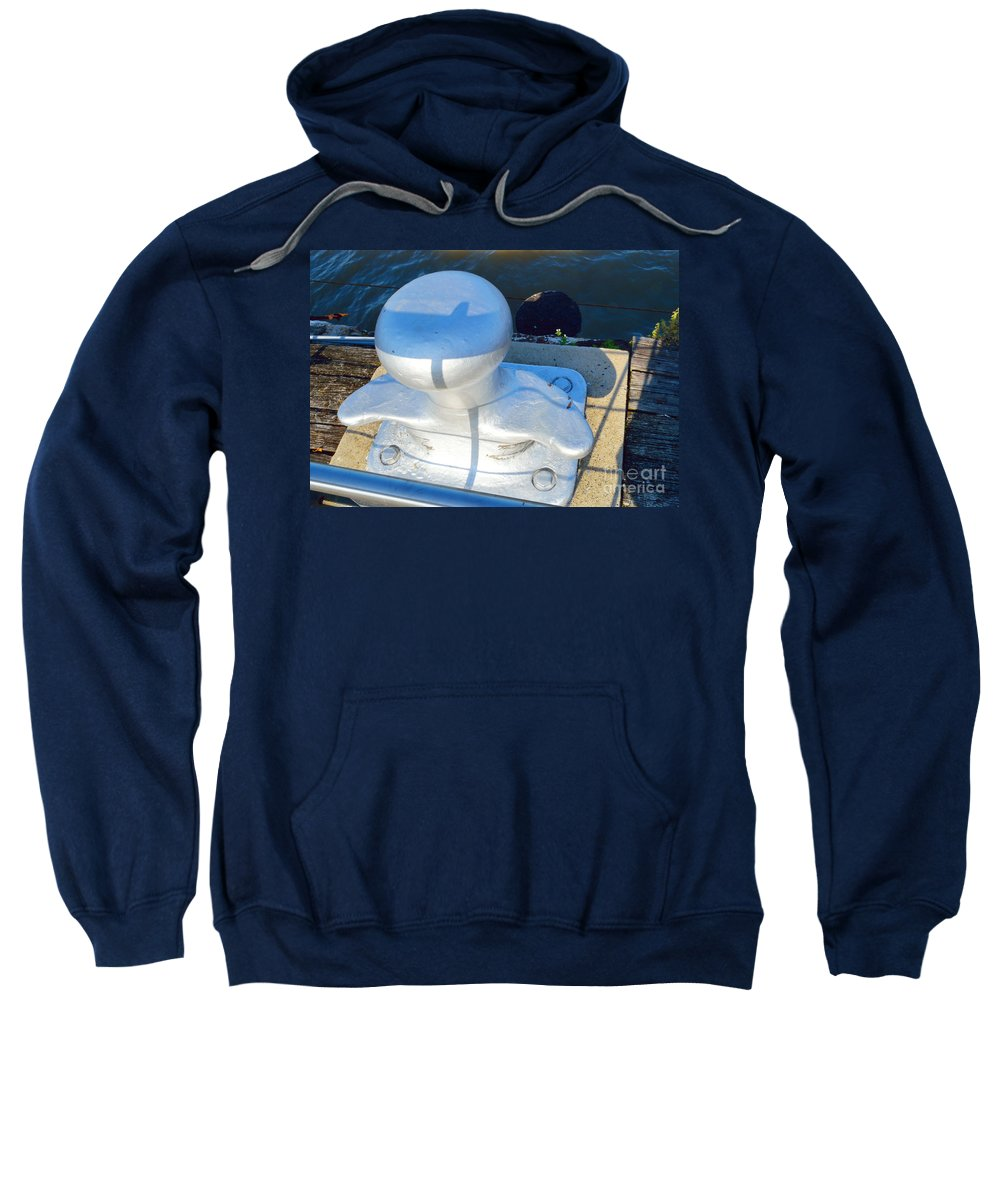 Prints Sweatshirt featuring the photograph On The Dock by Alys Caviness-Gober
