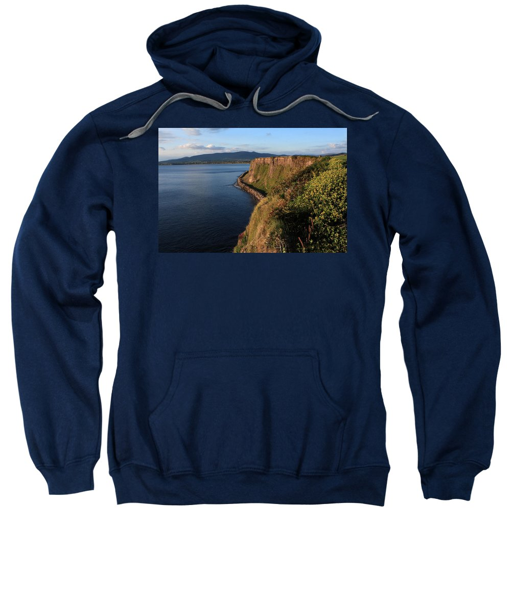 Ireland Sweatshirt featuring the photograph On The Edge by Aidan Moran