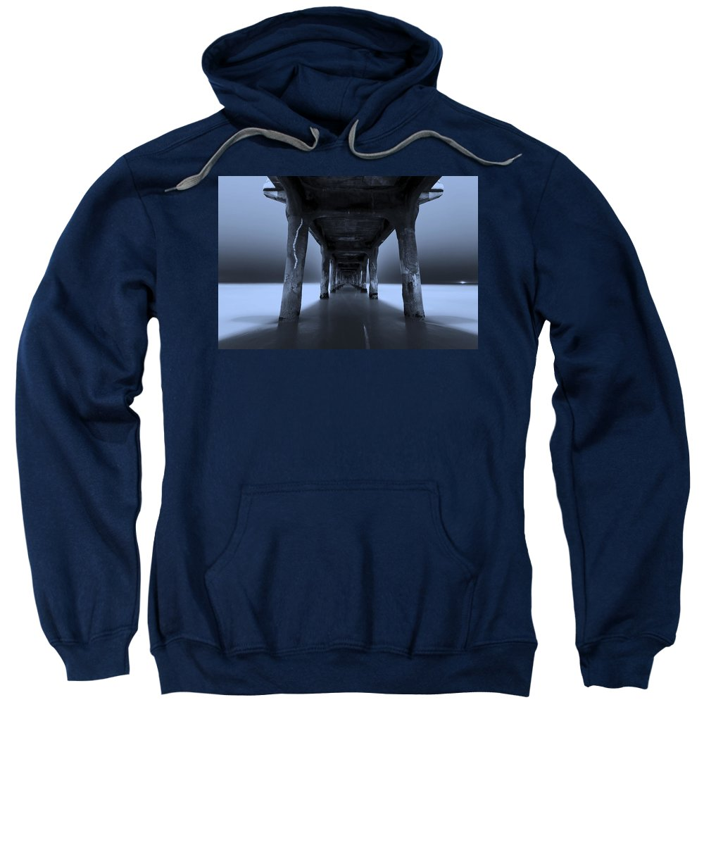 United States Sweatshirt featuring the photograph Peaceful Pacific by Mihai Andritoiu