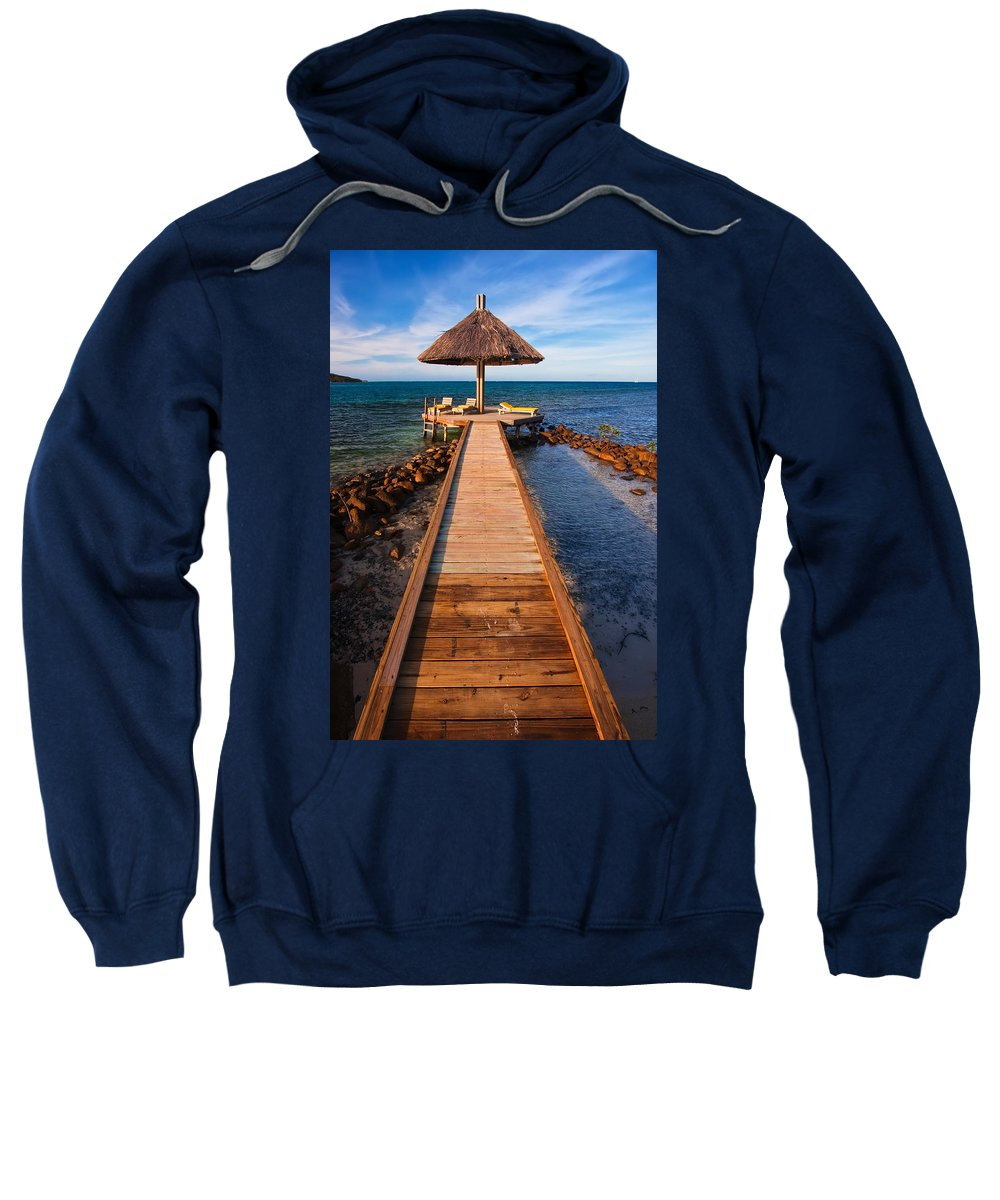 3scape Sweatshirt featuring the photograph Perfect Vacation by Adam Romanowicz
