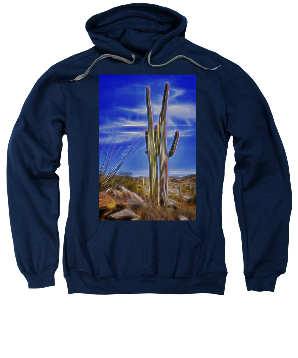 Radiant Sweatshirt featuring the photograph Radiant Couple by Kelley King