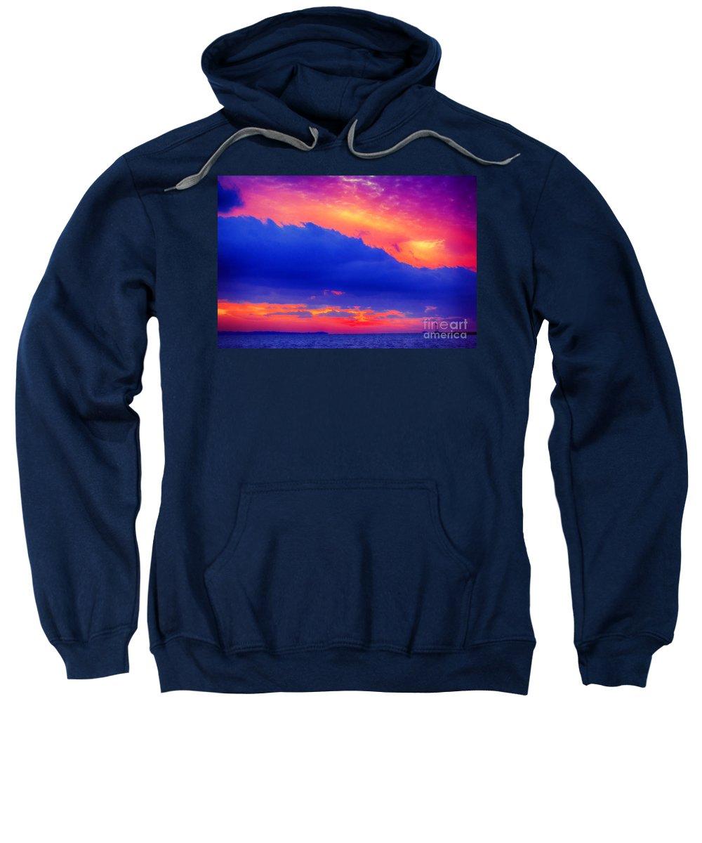Sun Sweatshirt featuring the photograph Refractive by Joe Geraci