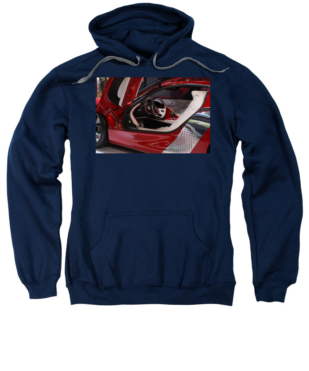 Shiny Sweatshirt featuring the photograph Renault Dezir by Dany Lison