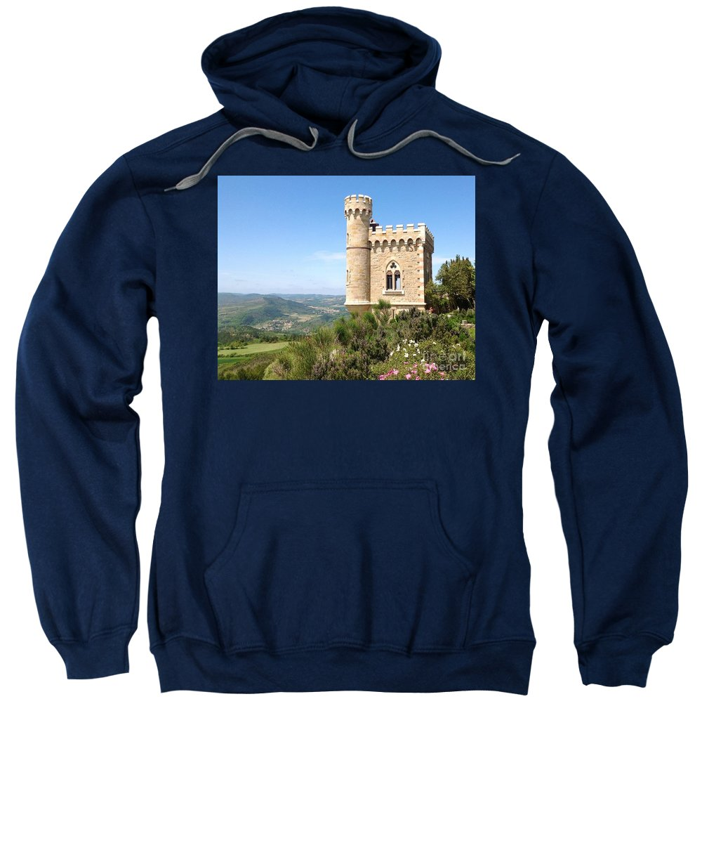 Rennes Le Chateau Sweatshirt featuring the photograph Rennes.. by France Art
