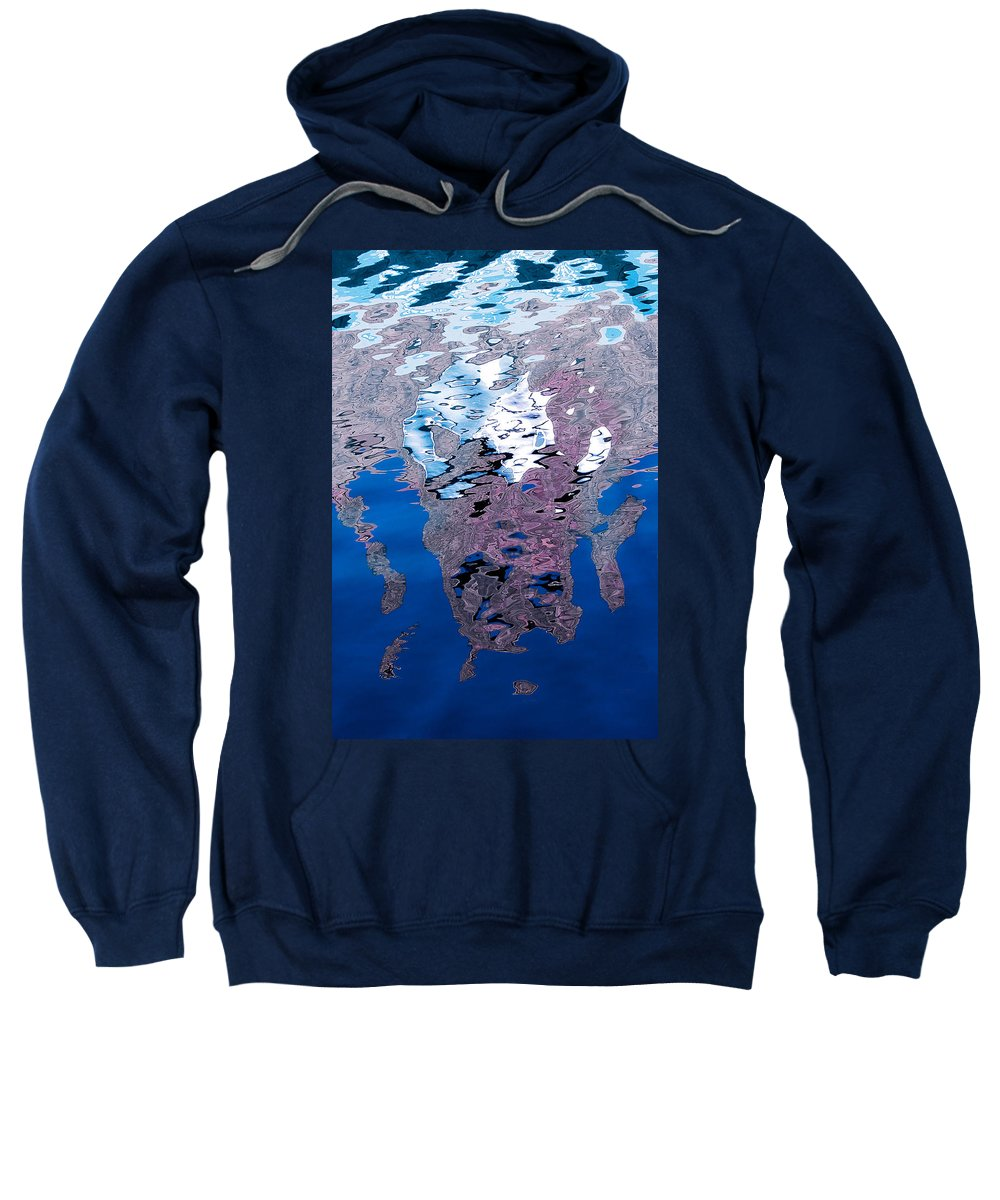 Reflection Sweatshirt featuring the photograph Screaming Reflection by Robert Woodward