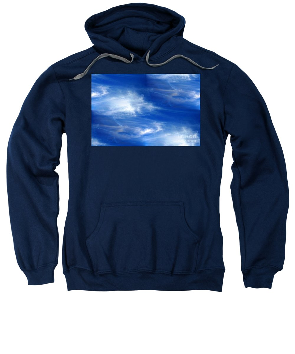 Seamless Sweatshirt featuring the photograph Seamless Background Sky by Henrik Lehnerer