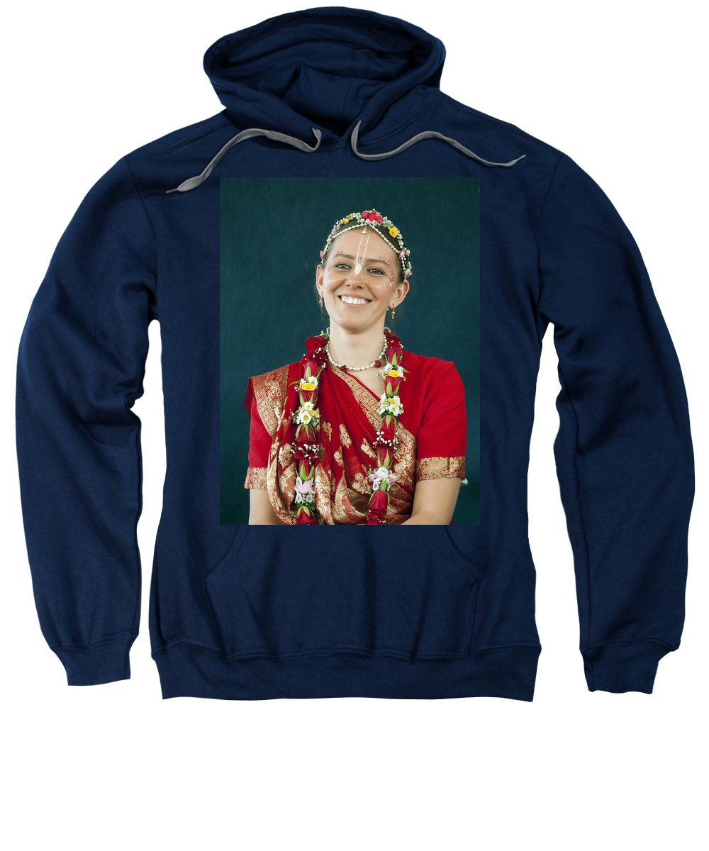 Bride Sweatshirt featuring the photograph Smile by Daniel Csoka