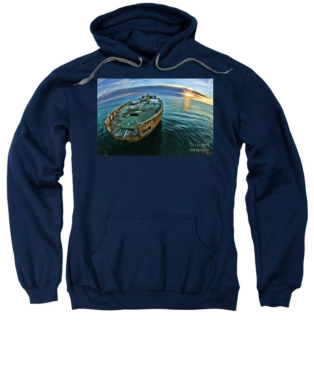 Ss Palo Alto Sweatshirt featuring the photograph Ss Palo Alto by Blake Richards
