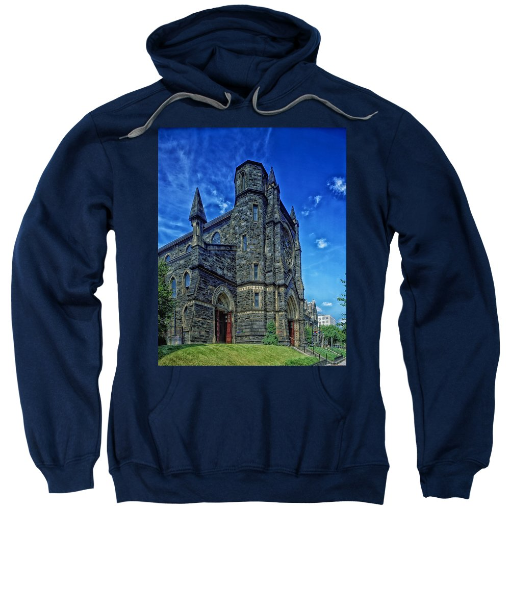 St. Patrick's Church Sweatshirt featuring the photograph St Patrick's Church by Mountain Dreams