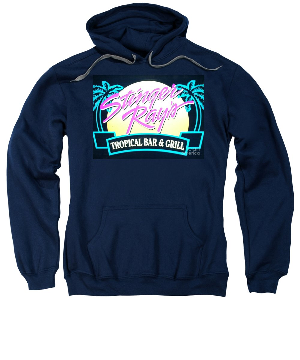 Stingers Rays Sweatshirt featuring the photograph Stinger Ray's by Michael Krek