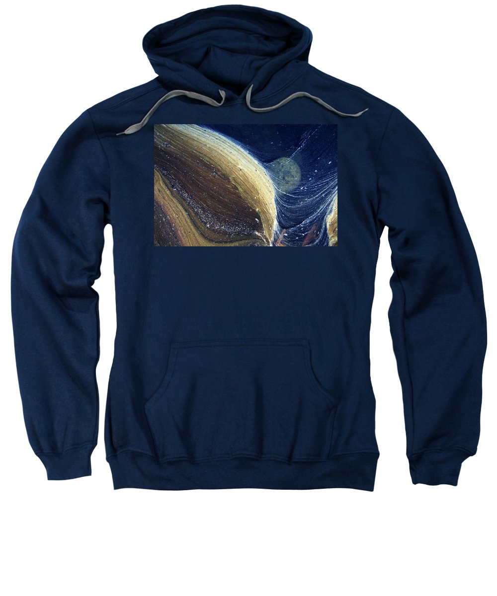 Scum Sweatshirt featuring the photograph Stream Astronomy 1 by Robert Woodward