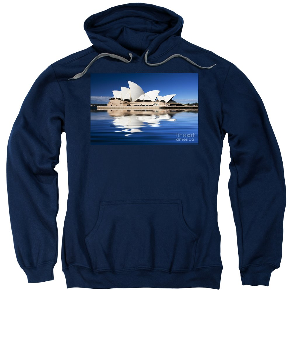 Sydney Opera House Sweatshirt featuring the photograph Sydney Icon by Sheila Smart Fine Art Photography