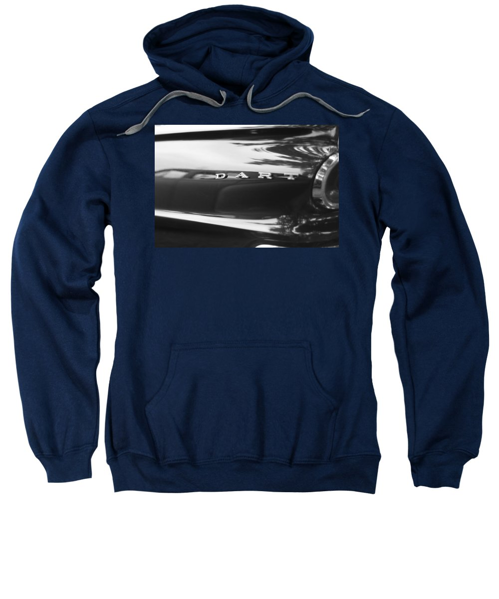 The Dodge Dart Sweatshirt featuring the photograph The Dodge Dart by Dan Sproul