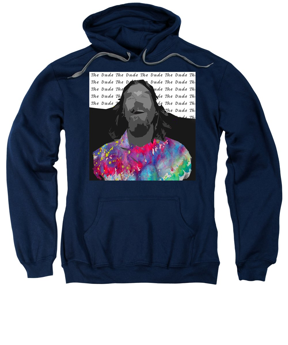 The Dude Sweatshirt featuring the photograph The Dude by The Artist Project