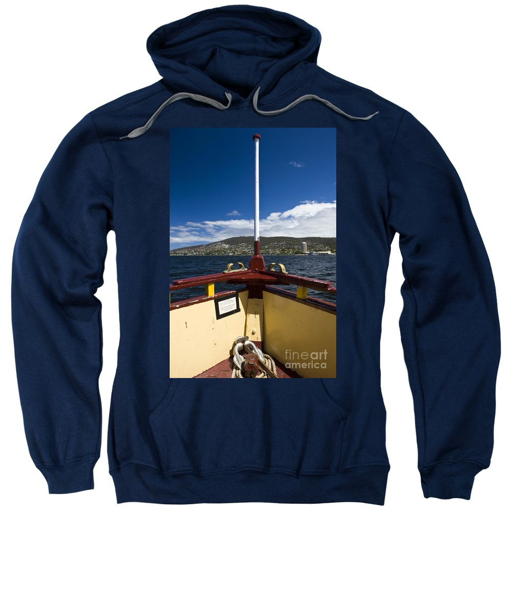 Travel Sweatshirt featuring the photograph The Emmalisa Hobart by Jason O Watson