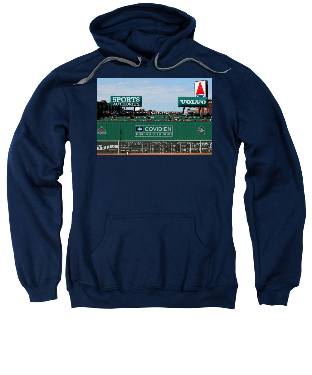 Fine Art America Sweatshirt featuring the photograph The Green Monster 99 by Tom Prendergast