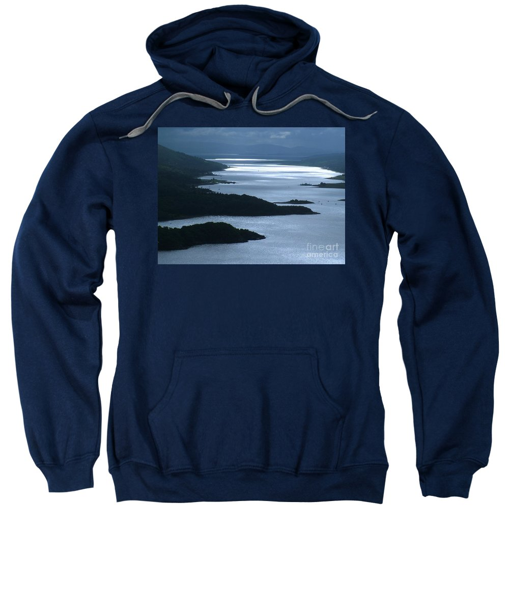The Kyles Of Bute Sweatshirt featuring the photograph The Kyles Of Bute by Joan-Violet Stretch