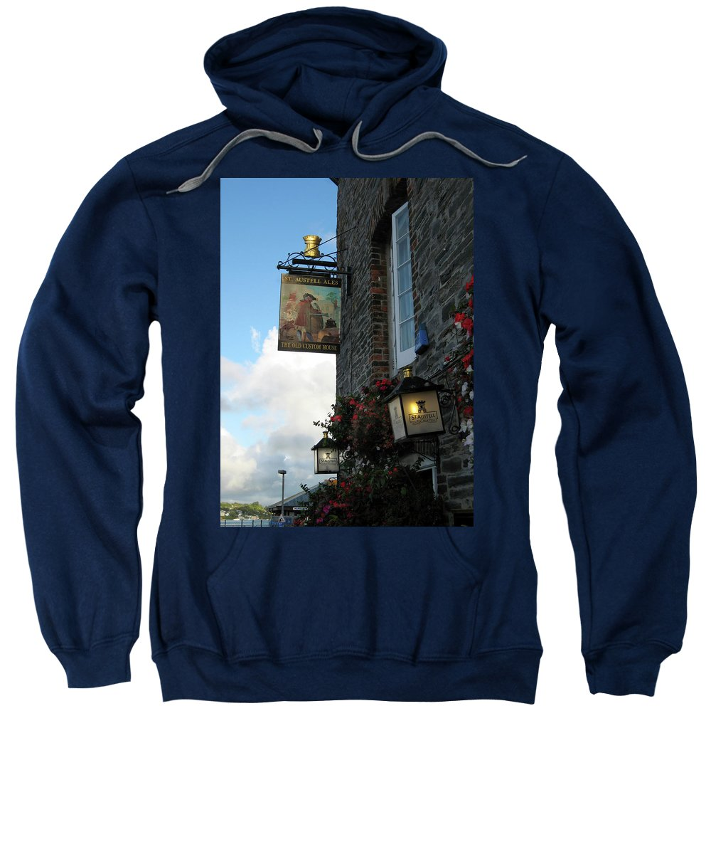 The Old Custom House Sweatshirt featuring the photograph The Old Custom House by Kurt Van Wagner