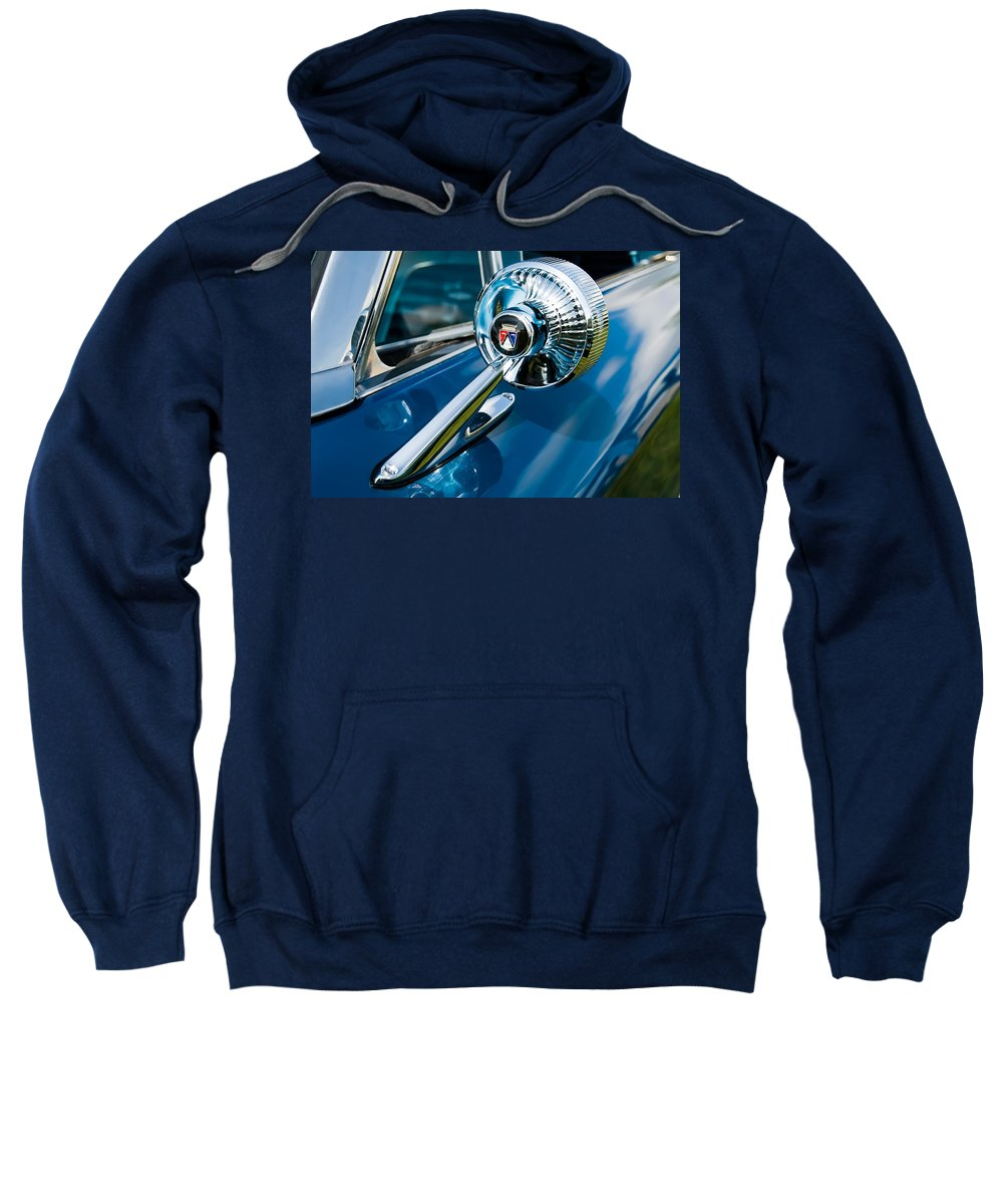 Classic Ford Sweatshirt featuring the photograph The Side View Mirror by Robert VanDerWal