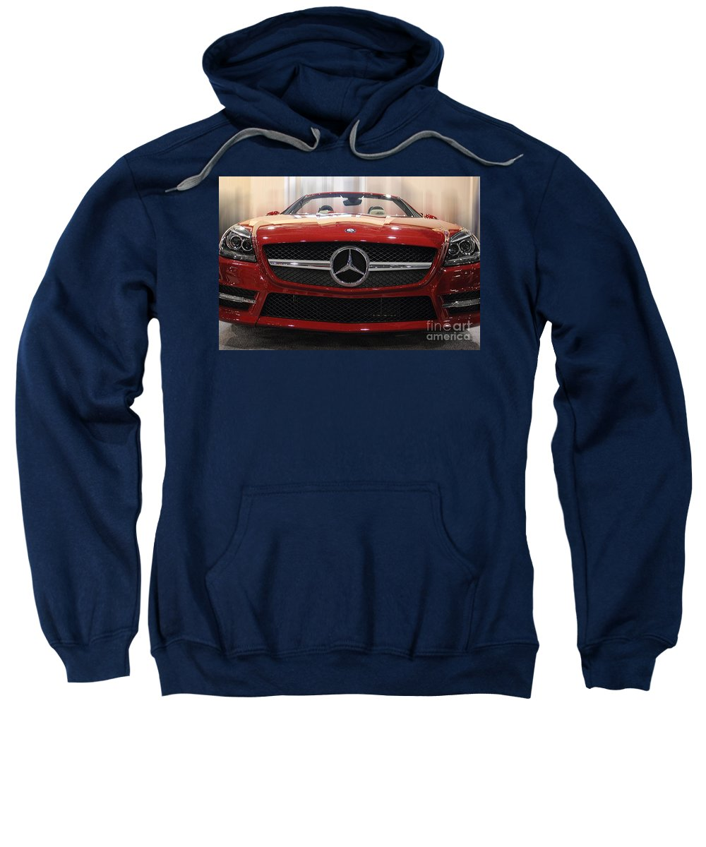 Automobile Sweatshirt featuring the photograph The Three Mediums by Tom Gari Gallery-Three-Photography