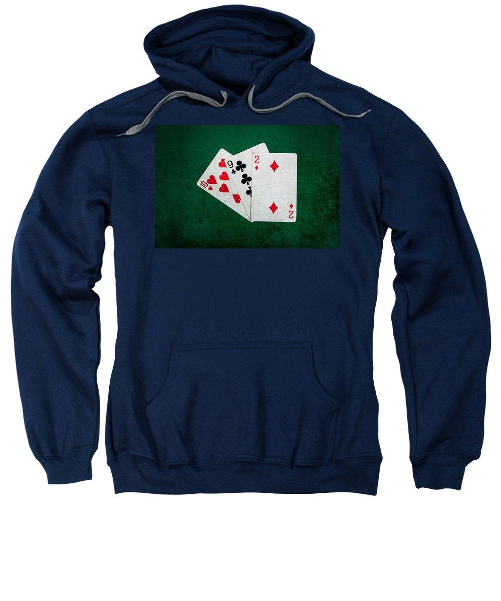 Blackjack Sweatshirt featuring the photograph Twenty One 9 by Alexander Senin