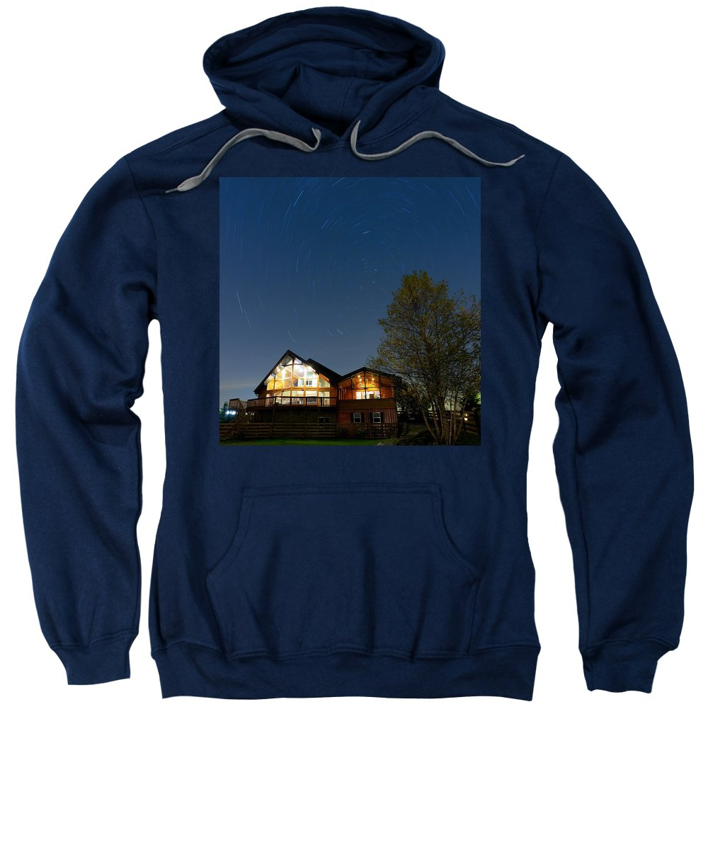 House Sweatshirt featuring the photograph Under The Stars by Alexey Stiop