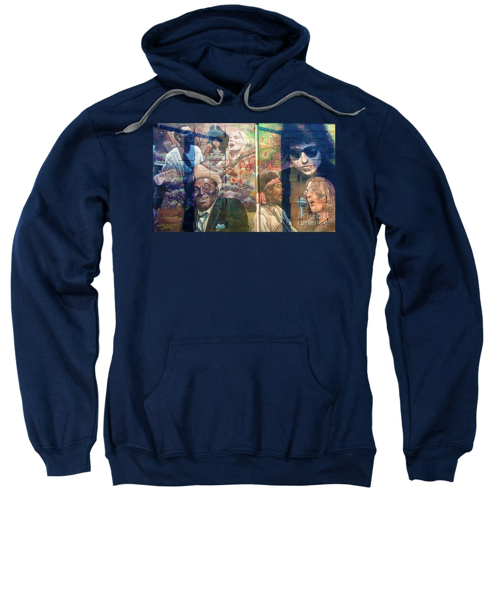 Landscape Sweatshirt featuring the photograph Urban Graffiti 3 by Janice Westerberg