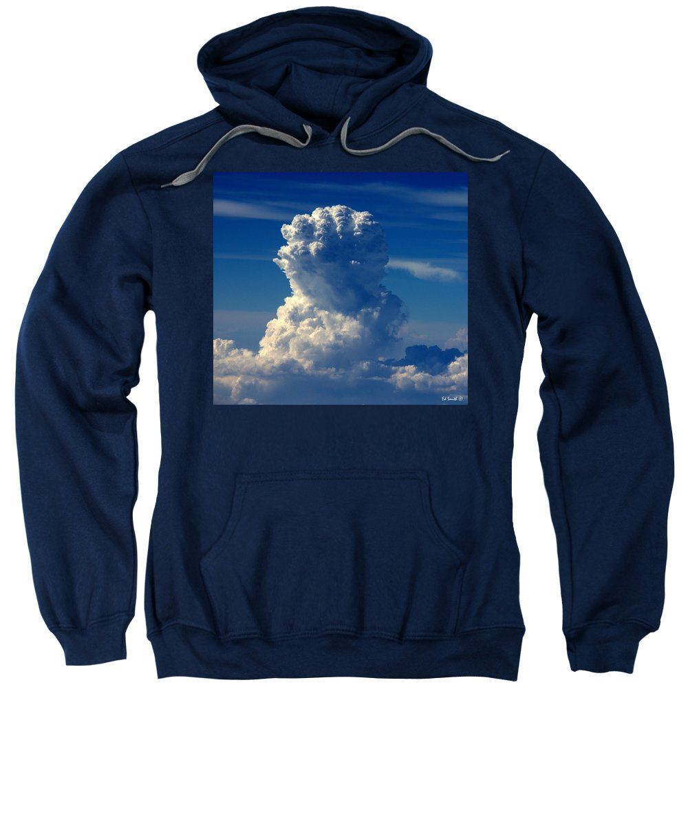 White Power Ii Sweatshirt featuring the photograph White Power II by Ed Smith