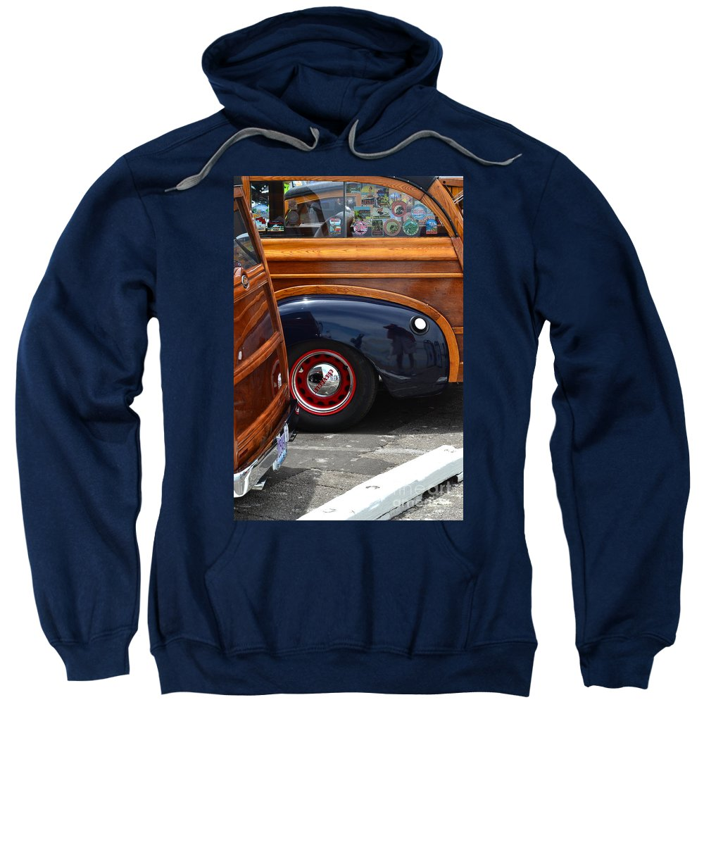 Sweatshirt featuring the photograph Woodies by Dean Ferreira