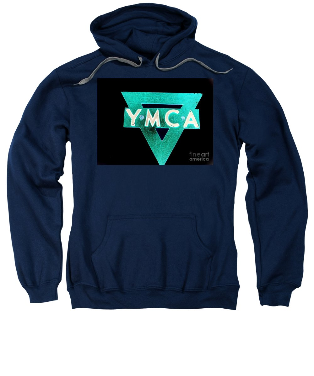 Ymca Sweatshirt featuring the photograph Ymca by Ed Weidman
