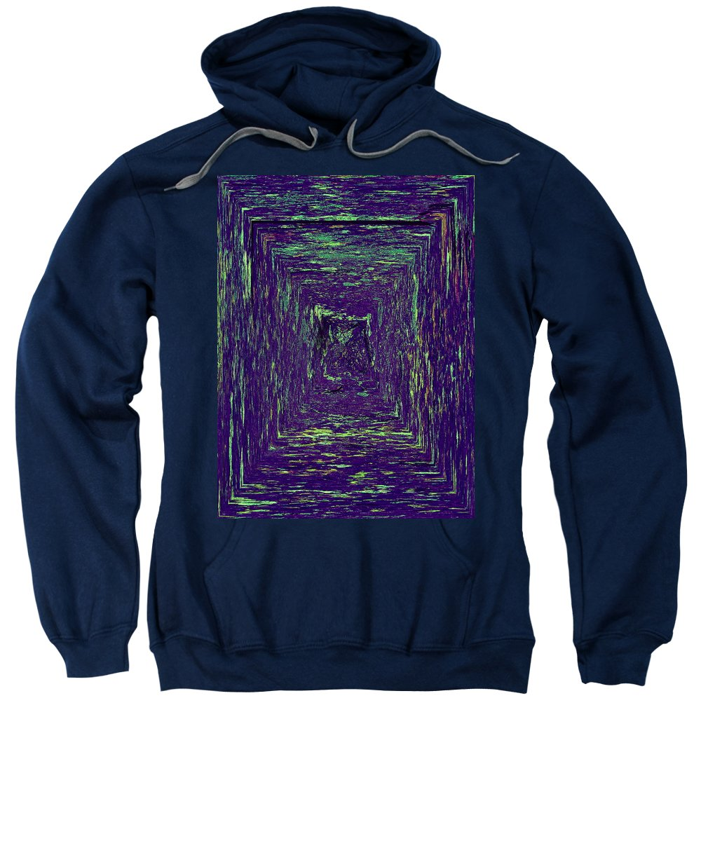 2012 Sweatshirt featuring the photograph Coloristic Abstracts From Varikallio At Hossa by Jouko Lehto