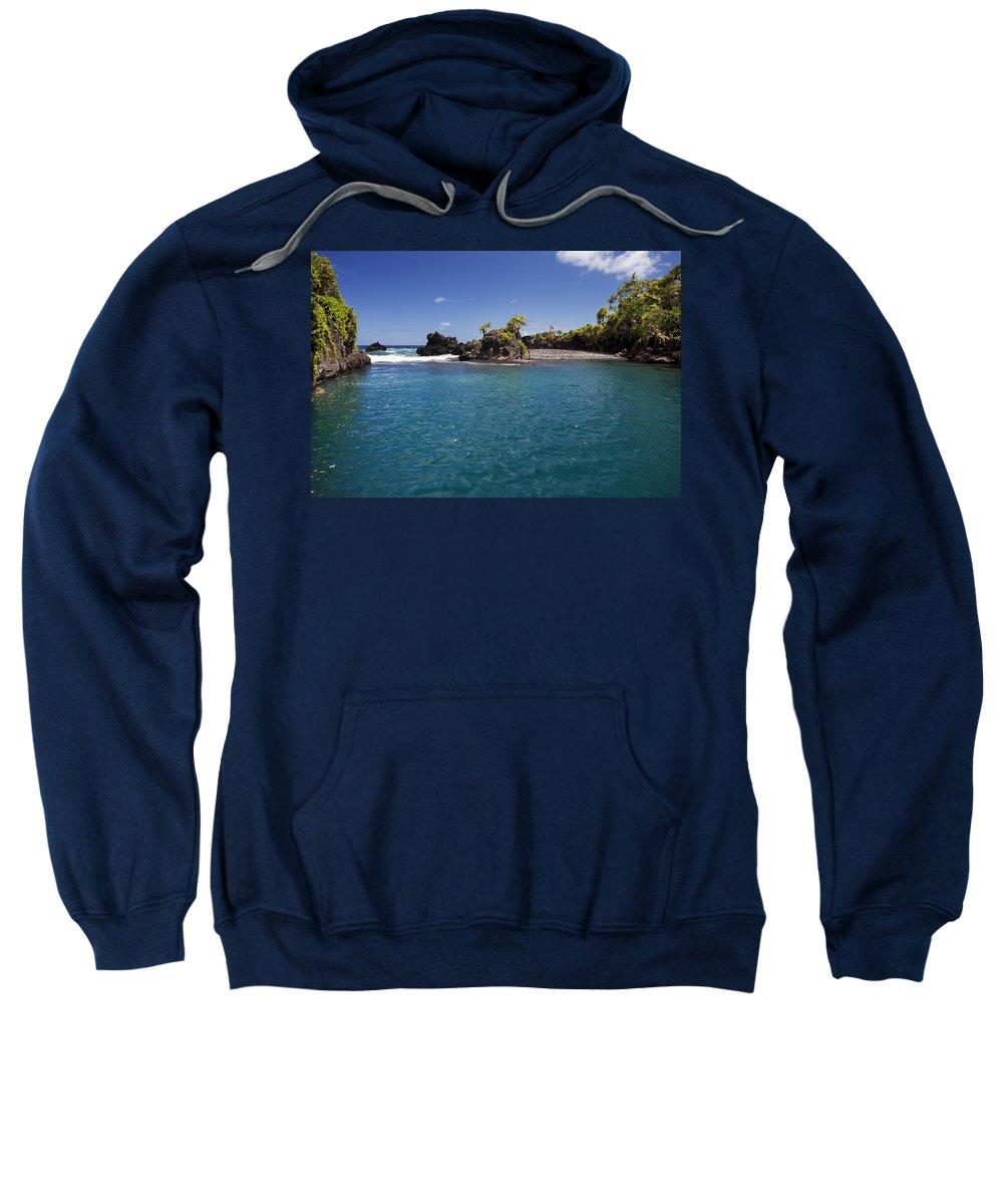Big Sweatshirt featuring the photograph Hanas Venus Pool by Jenna Szerlag