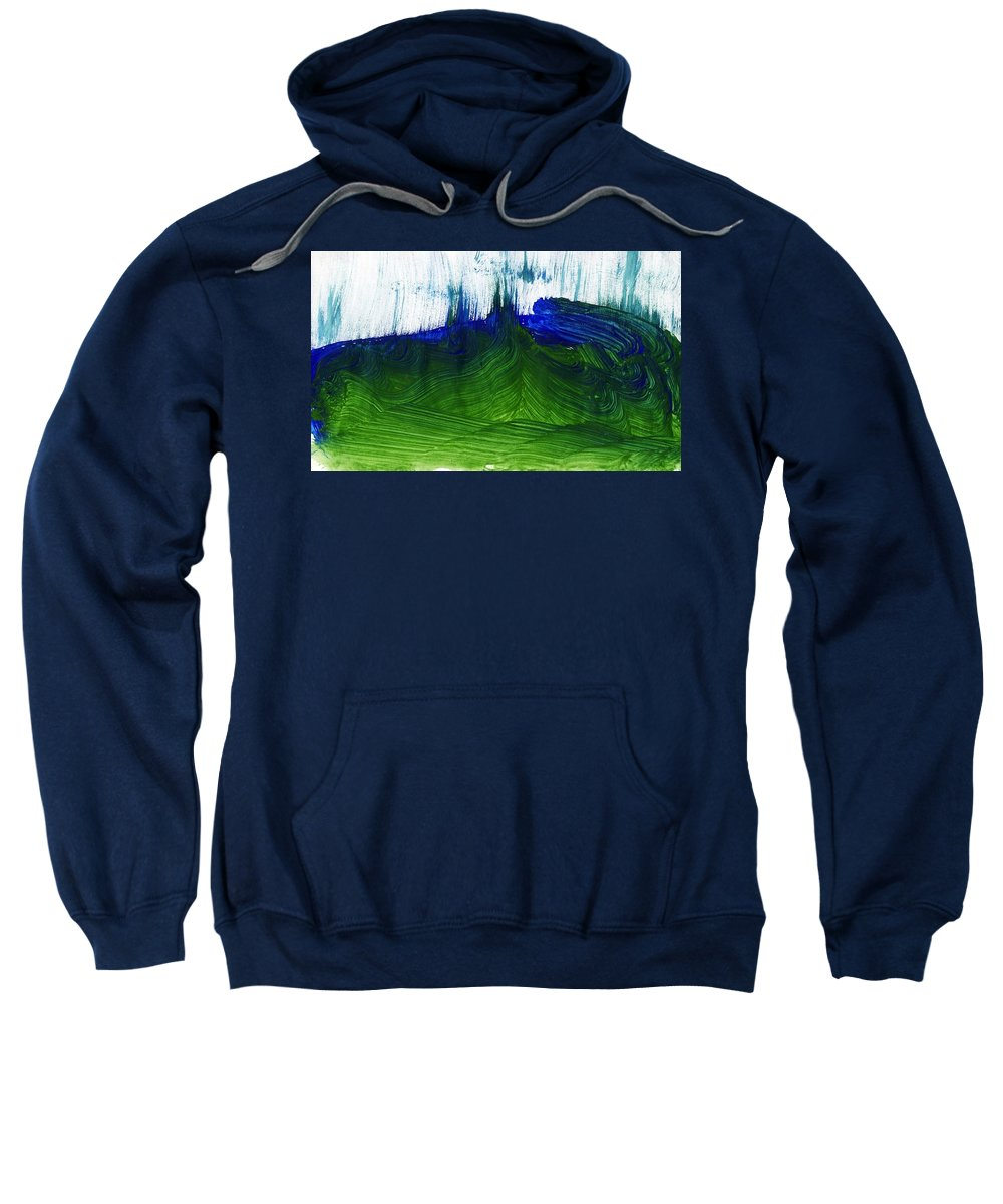 40890-photos2-023 Sweatshirt featuring the painting Untitled by Taylor Webb
