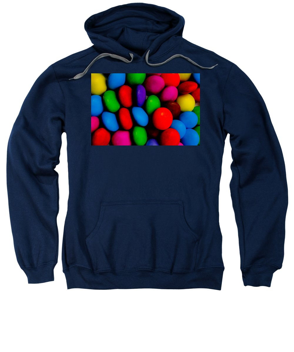 Colour Sweatshirt featuring the digital art Sweet Abstract by David Pyatt