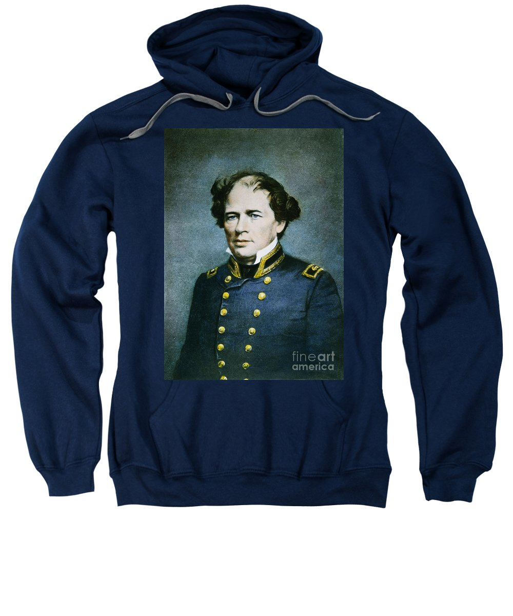 19th Century Sweatshirt featuring the photograph Matthew Fontaine Maury by Granger