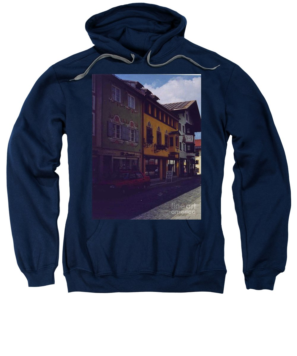 Germany Sweatshirt featuring the photograph An Afternoon In Germany by Nancy Patterson