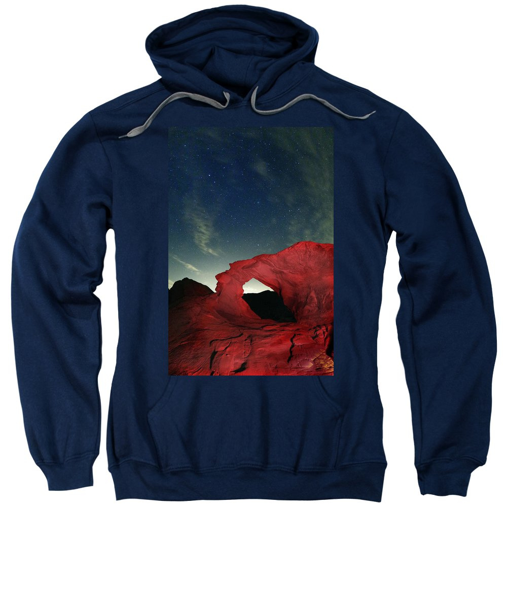 Stars Sweatshirt featuring the photograph Arch And Stars by Rick Berk